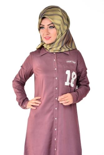 - Allday Tunik Gömlek Gül Kurusu-50717 (1)