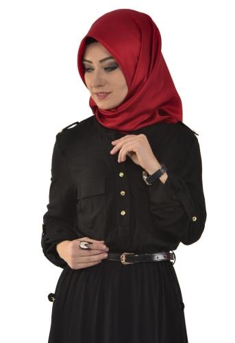 - Belden Lastikli Spor Elbise Siyah-3340 (1)