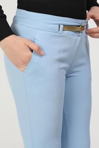 - Bilek Boy Gold Kemerli Cepli Pantolon-3434 Bebemavisi (1)