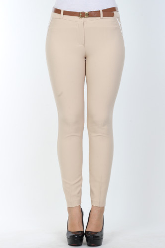- Bilek Boy pantolon-0531Taşrengi