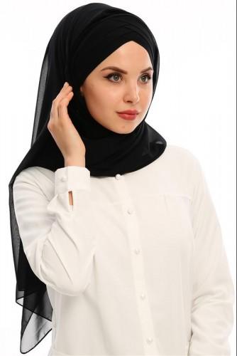 - Hazır Bone şal-E60Siyah (1)