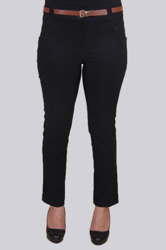 - Kışlık Bilek Boy pantolon-Siyah0529