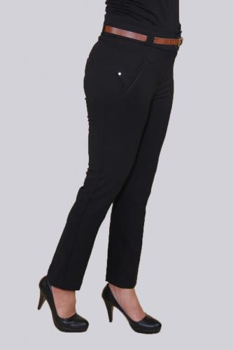 - Kışlık Bilek Boy pantolon-Siyah0529 (1)