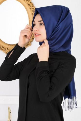 Modaebva - Senem Tafta Şal-1140 Mavi