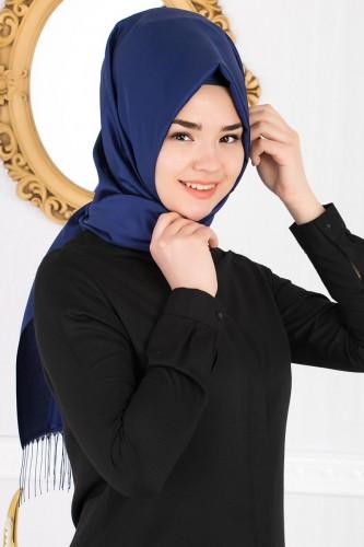 Senem Tafta Şal-1140 Mavi - Thumbnail
