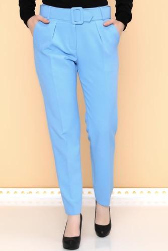 - Yüksek Bel Kalın Kemerli Pantolon-2098 Bebemavisi (1)