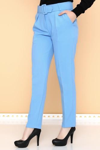 - Yüksek Bel Kalın Kemerli Pantolon-2098 Bebemavisi